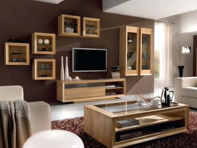 Muebles modernos para salas de estar dise os con estilo - Muebles de sala ...