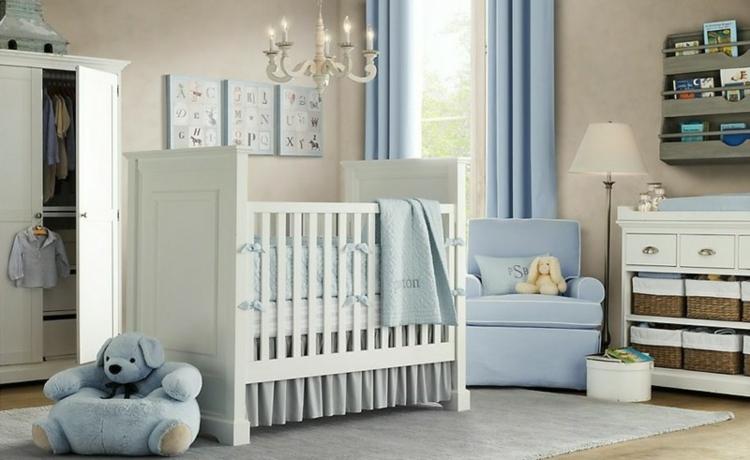 contraste azul blanco diseño oso
