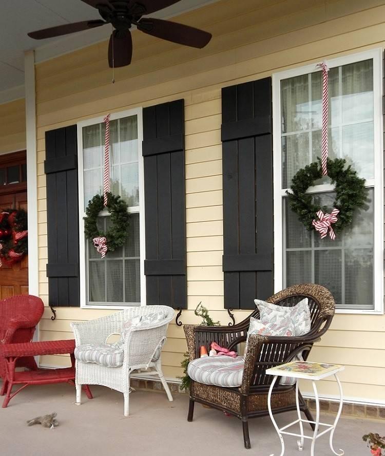 exteriores navideños ventanas ventilador