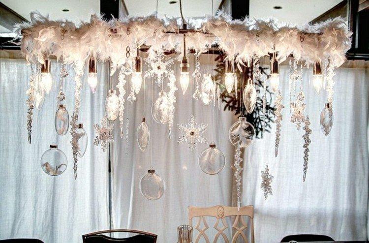 cortinas diferentes casa lamparas plumas