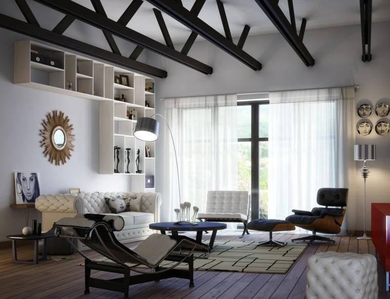 cuadros estilos variados techado diseño