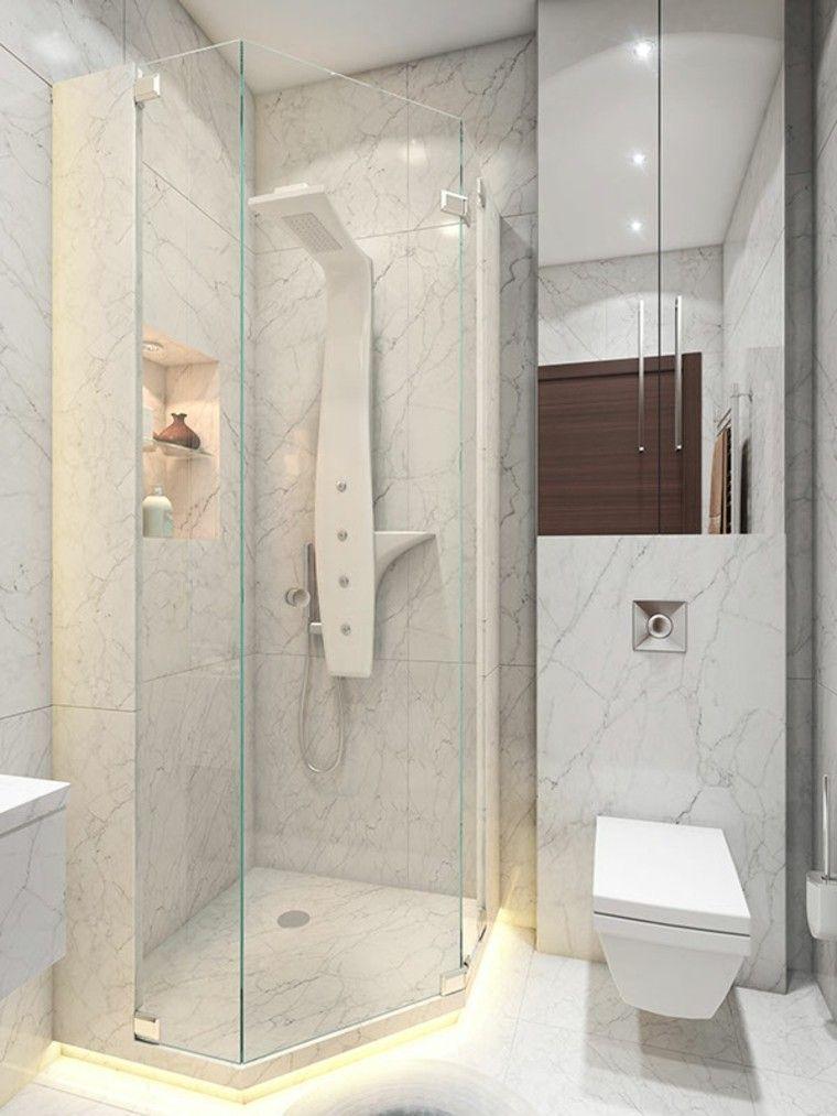 cuarto baño deseño estilo diferente marmol