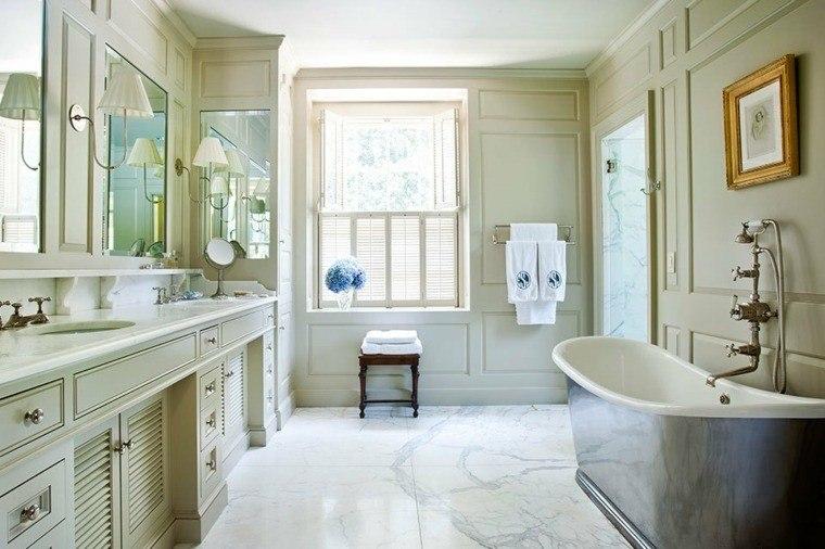 cuartos bano marmol diseno contemporaneo ideas
