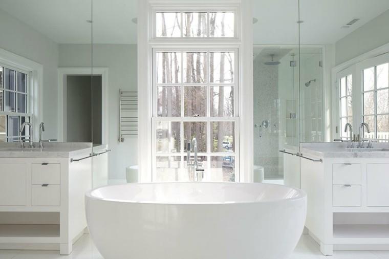 Cuartos de ba o marmol lujoso en suelo y paredes - Cuartos de bano de marmol ...