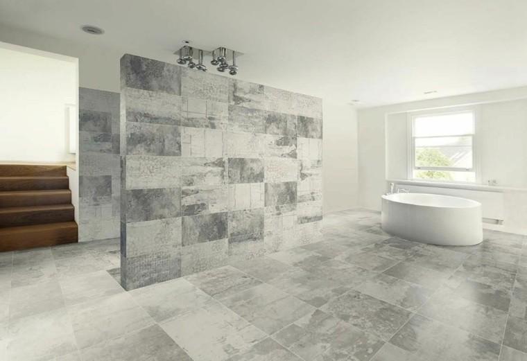 cuartos de baño marmol amplio banera ideas