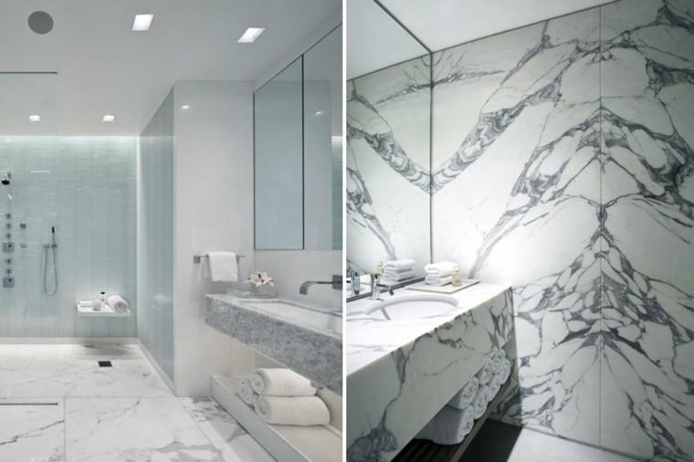 cuarto- de baño marmol lavabo precioso ideas