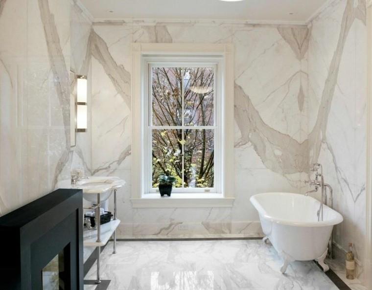 cuartos de bano marmol pequeno benera pequena ideas
