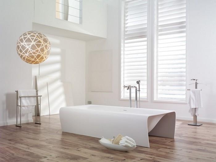 cuartos de bano modernos banera blanca preciosa ideas