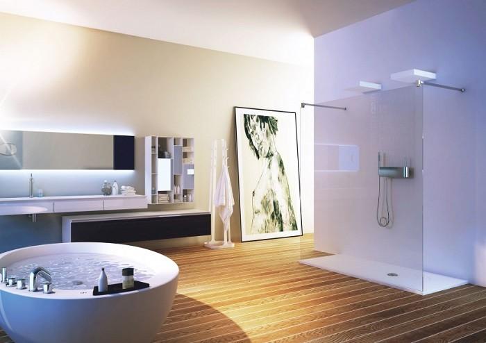 cuartos de baño modernos cuadro decorativo ideas