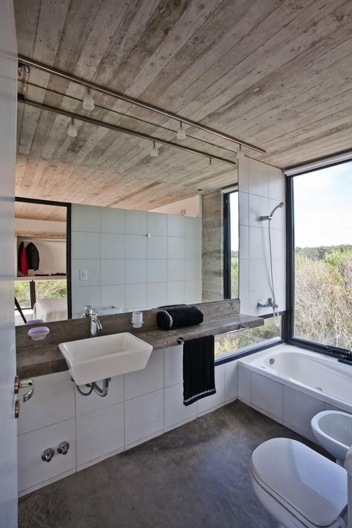 cuartos de baño modernos losas blancas ideas
