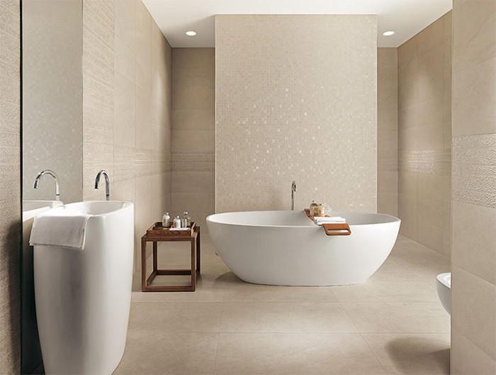 cuartos de baño modernos losas brillantes ideas