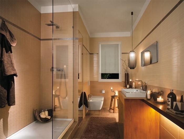 cuartos de bano modernos madera toques ideas