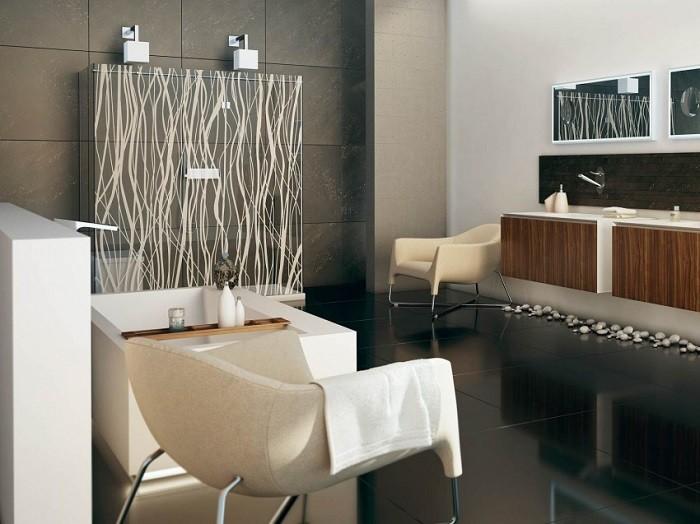 cuartos de bano modernos mampara original ideas