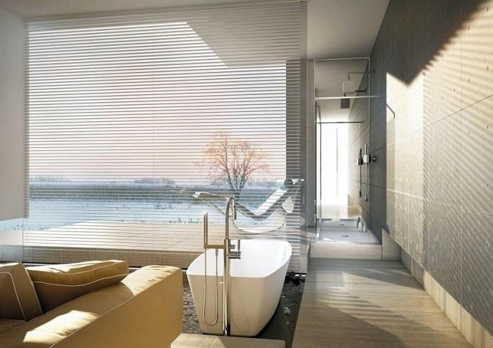 cuartos de bano modernos sofa amarilla ideas