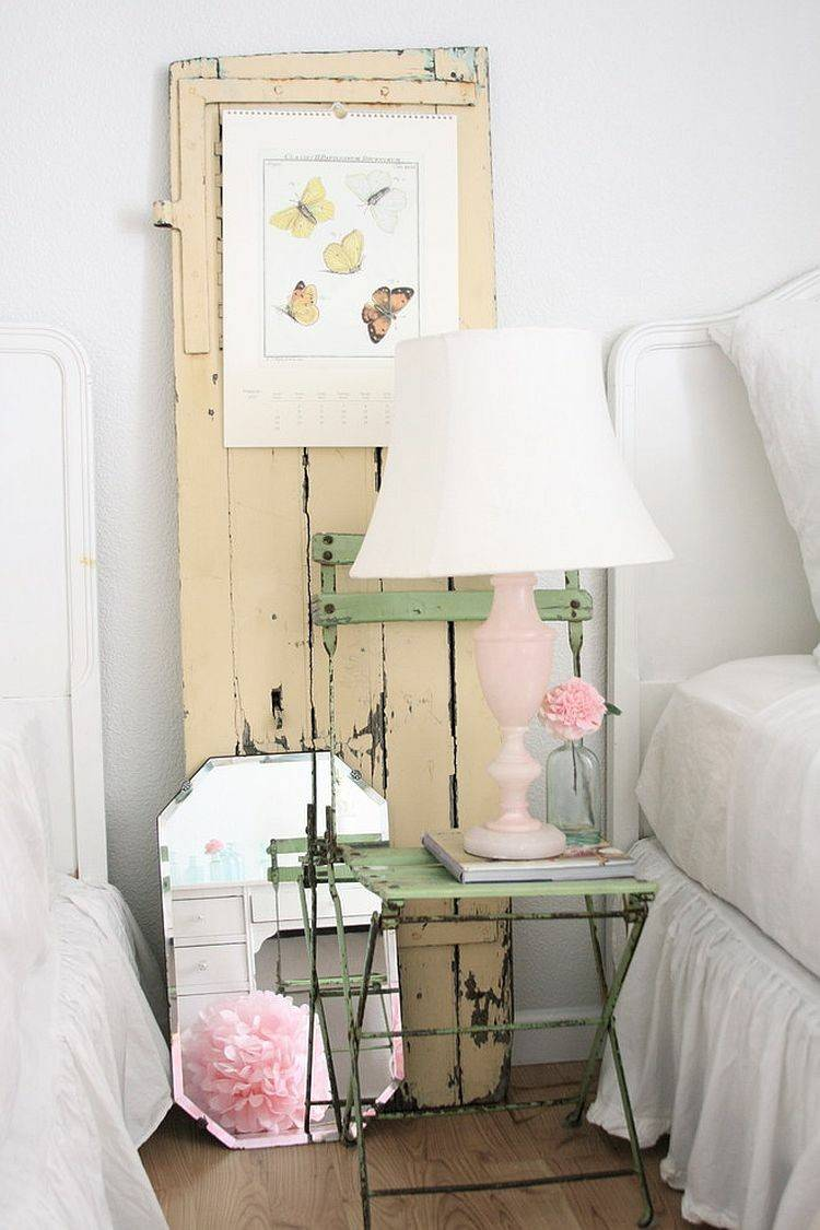 decorar cuarto shabby chic