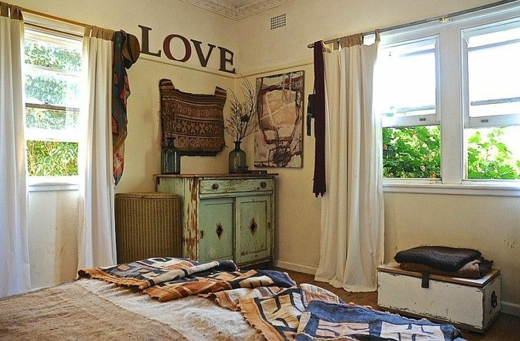 decorar dormitorio shabby chic