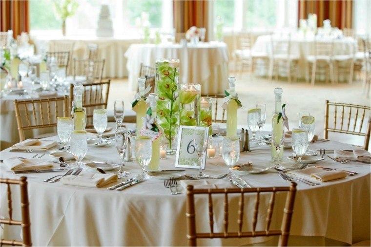decorar mesa centros bodas