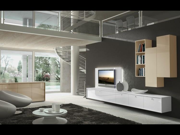 decoración salon muebles modernos