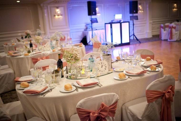 decoración mesa banquete boda