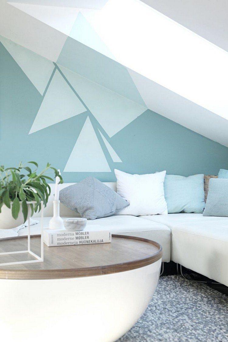 decoracion de paredes color celeste