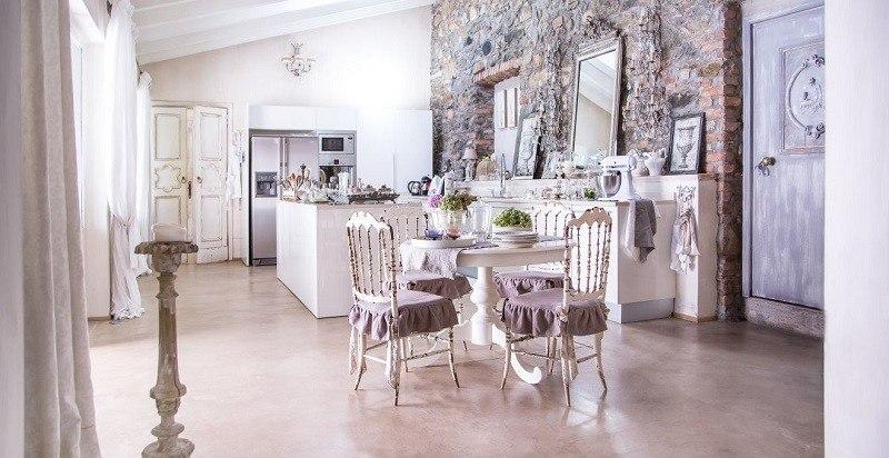 decoracion cocina estilo shabby chic preciosa ideas