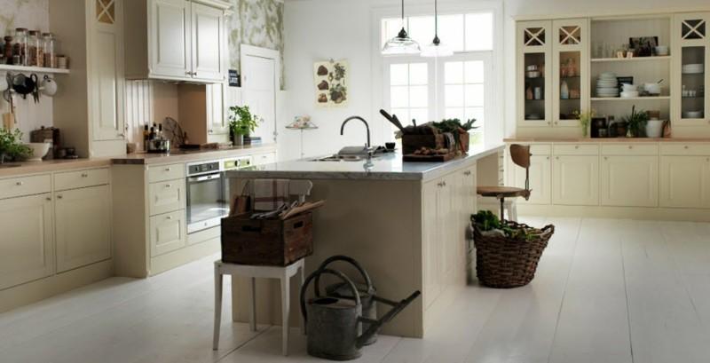 decoración de cocinas modernas campestre ideas