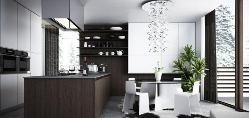 decoracion-de-cocinas-modernas-plantas