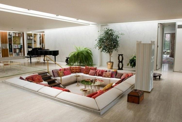 decoracion de interiores salones acogedores plantas ideas