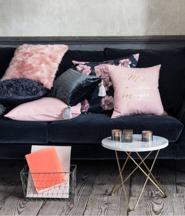 decoracion de interiores salones acogedores sofa negro ideas