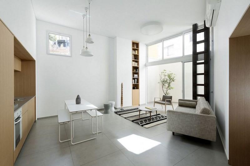 decoracion de salones abiertos apartamentos pequenos ideas