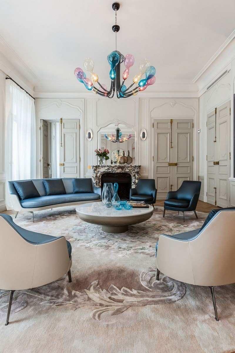 decoración de salones lampara preciosa ideas