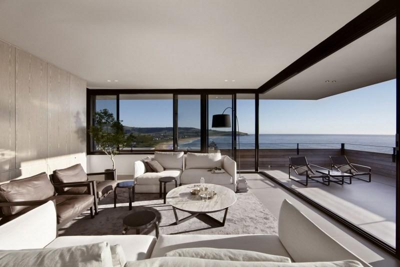 decoración de salones luminosos sofa blancas ideas