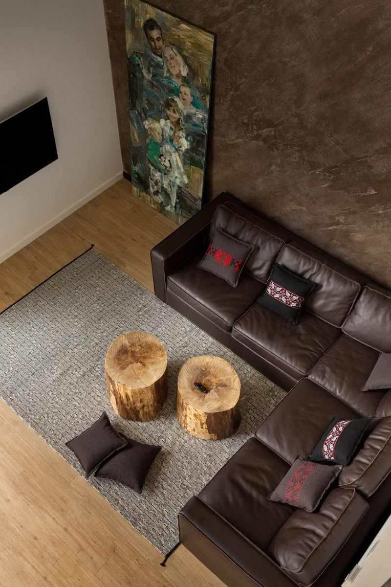 decoracion de salones mesas madera ideas