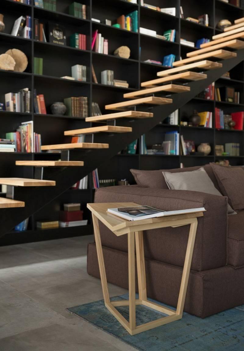 decoracion salones modernos mesa madera ideas