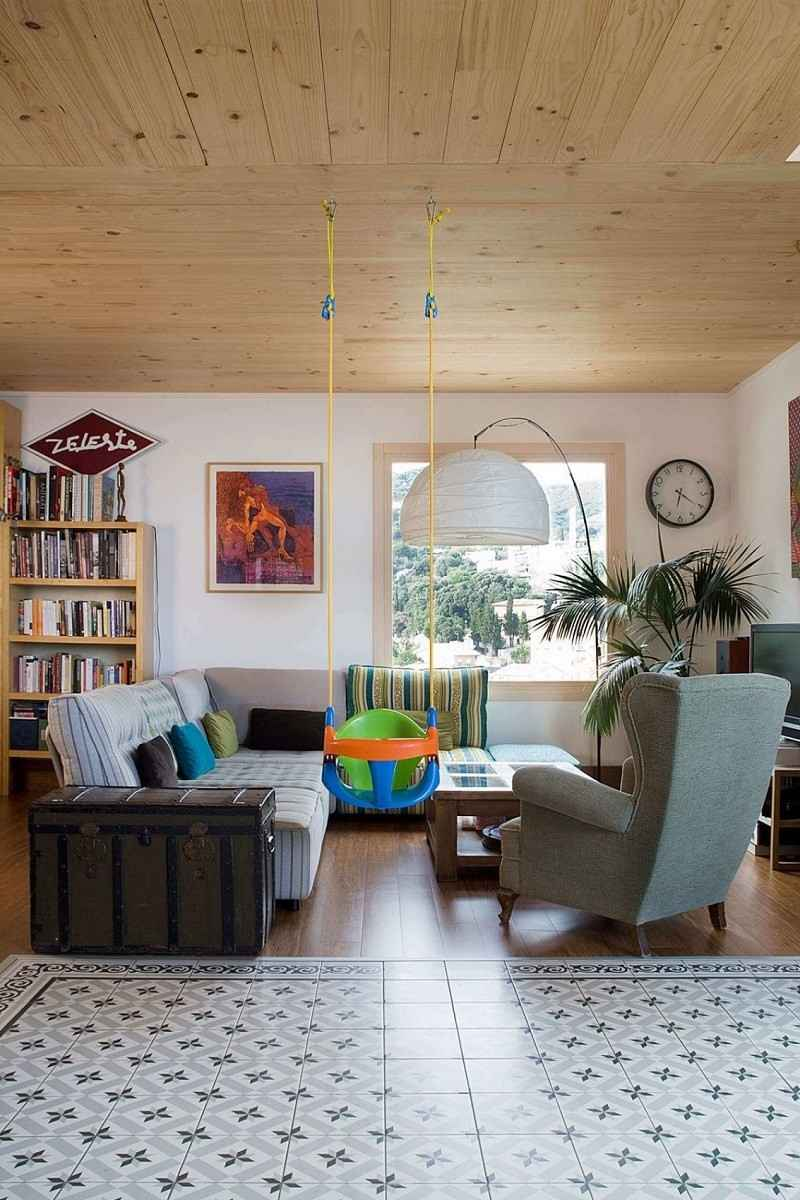 decoracion de salones sillon colores vibrantes ideas