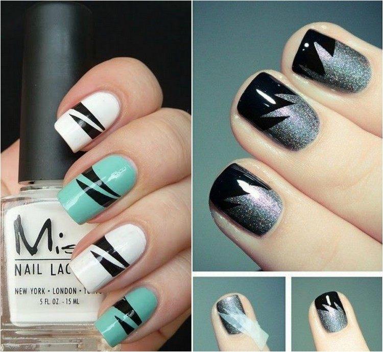 decoracion de uñas tendencias 2016 decos distintos colores ideas