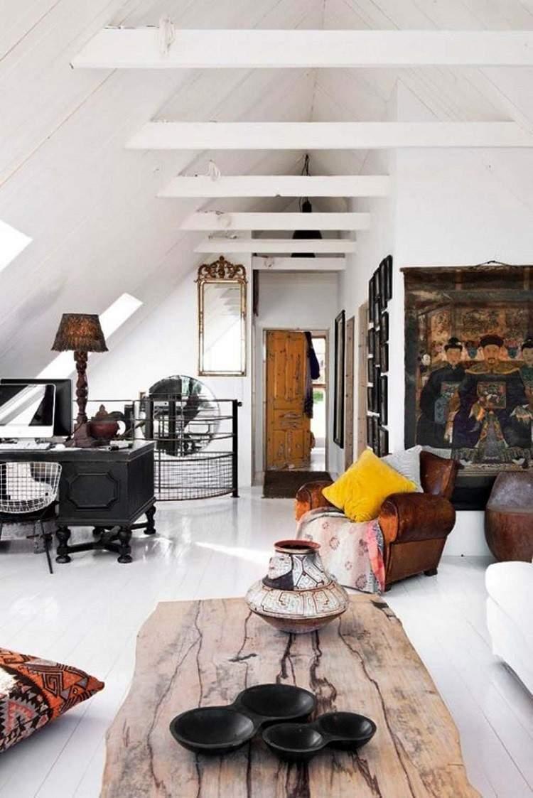 decoracion estilo vintage clasico salon ideas