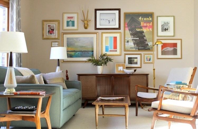 Decoracion vintage para cocinas salones y dormitorios - Cuadros decoracion salon ...