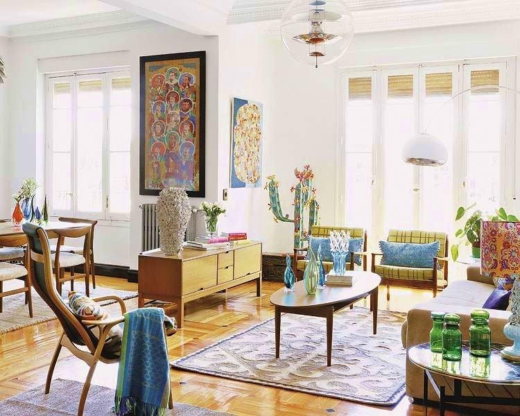 decoracion estilo vintage provenzal salon ideas