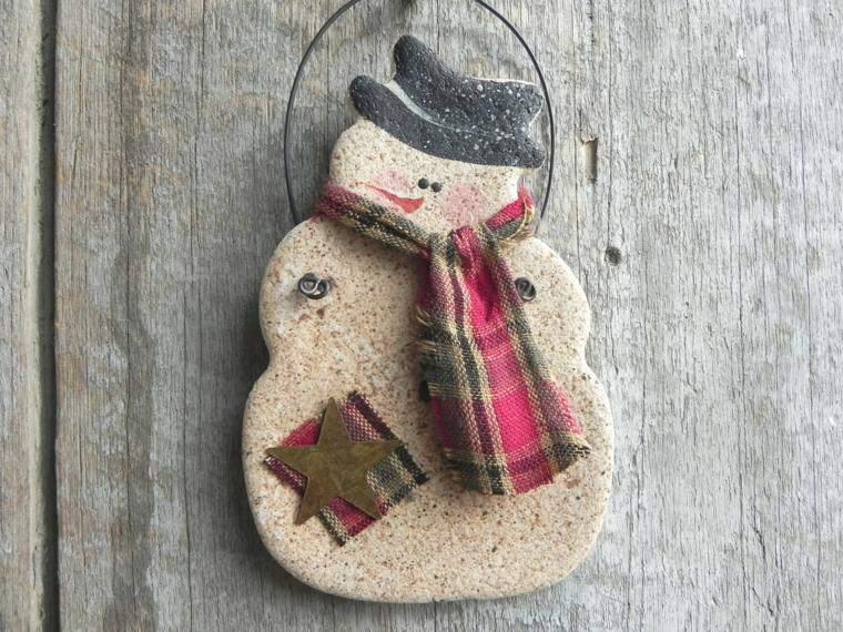 decoracion infantil manualidades arbol muñeco bufanda