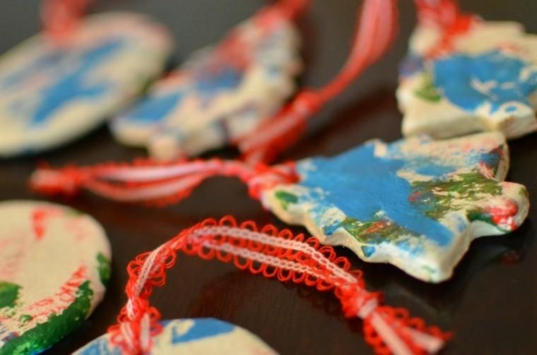decoracion infantil manualidades arboles colorido pintados