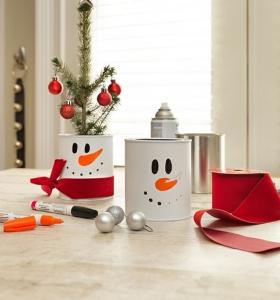 Centros de mesa de navidad las nuevas tendencias - Decoraciones de navidad manualidades ...
