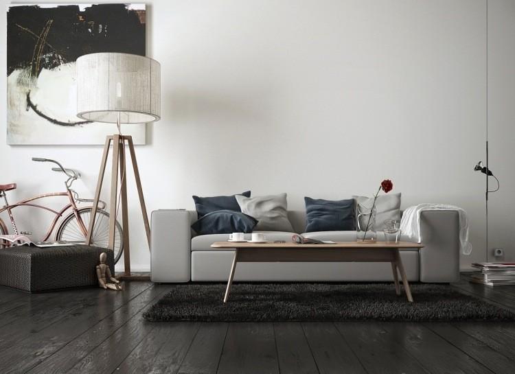 decoracion interiores salones acogedores sofa blanca ideas