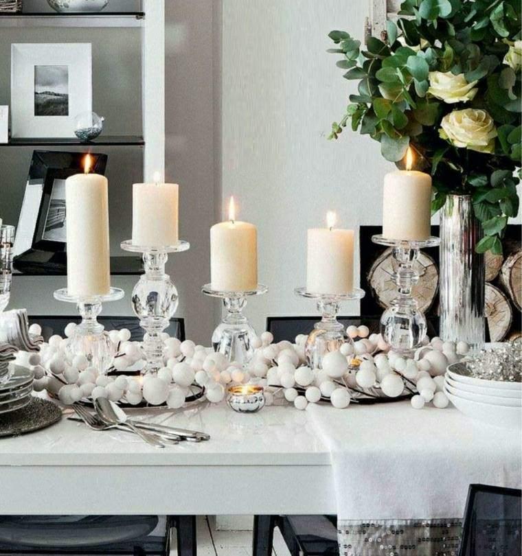 decoracion mesa adornos navidad ideas