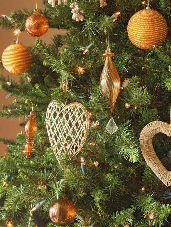 decoración navideña casa espanola moderna adornos ideas