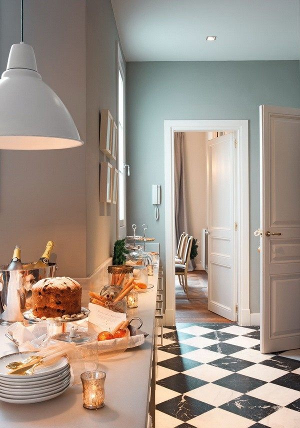 decoración navideña casa espanola moderna bonita ideas