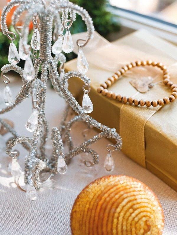 decoracion navidena casa espanola moderna mesa ideas