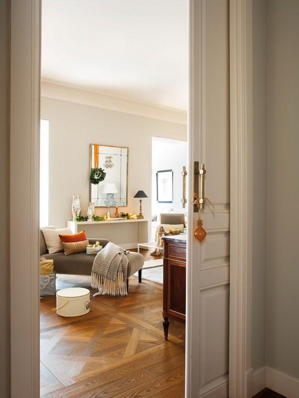 decoracion navidena casa espanola moderna preciosa ideas