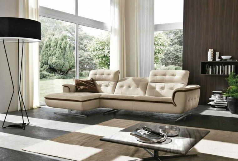 decoracion salon precioso mesa marmol ideas