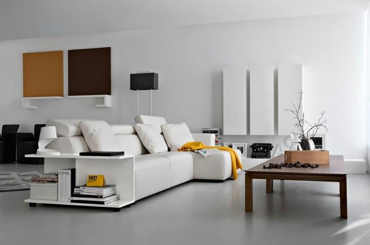 decoracion salon precioso pared blanco negro ideas